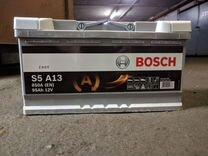 Абсолютно Новый акб bosch S5 A13 AGM старт/стоп 95